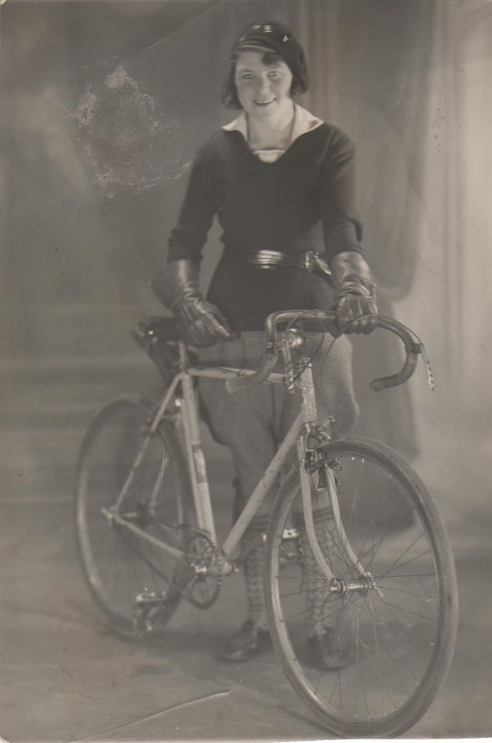 Belgisch Kampioene Paulina Willems in 1931.