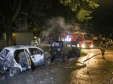 Opnieuw auto's in brand in Arnhem