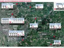 Deventer: drie extra windmolens en vooral zonneparken in buitengebied