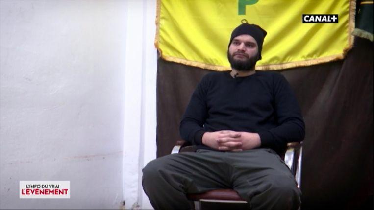 Caner Cankurtaran (26) uit Vilvoorde zit al zo'n 1,5 jaar in een Koerdisch kamp en zou mee kunnen vliegen met de Amerikanen. Hij minimaliseert zijn rol bij IS.