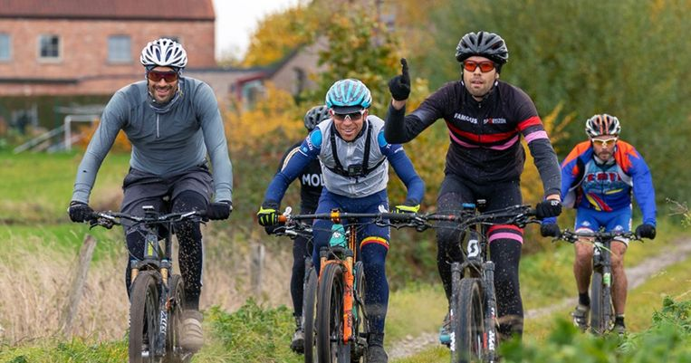 De mountainbikeroute in Lendelede is voortaan ook op smartphone beschikbaar.