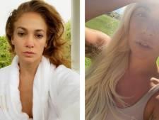 De J.Lo à Lady Gaga: les stars publient en masse des photos d'elles sans maquillage