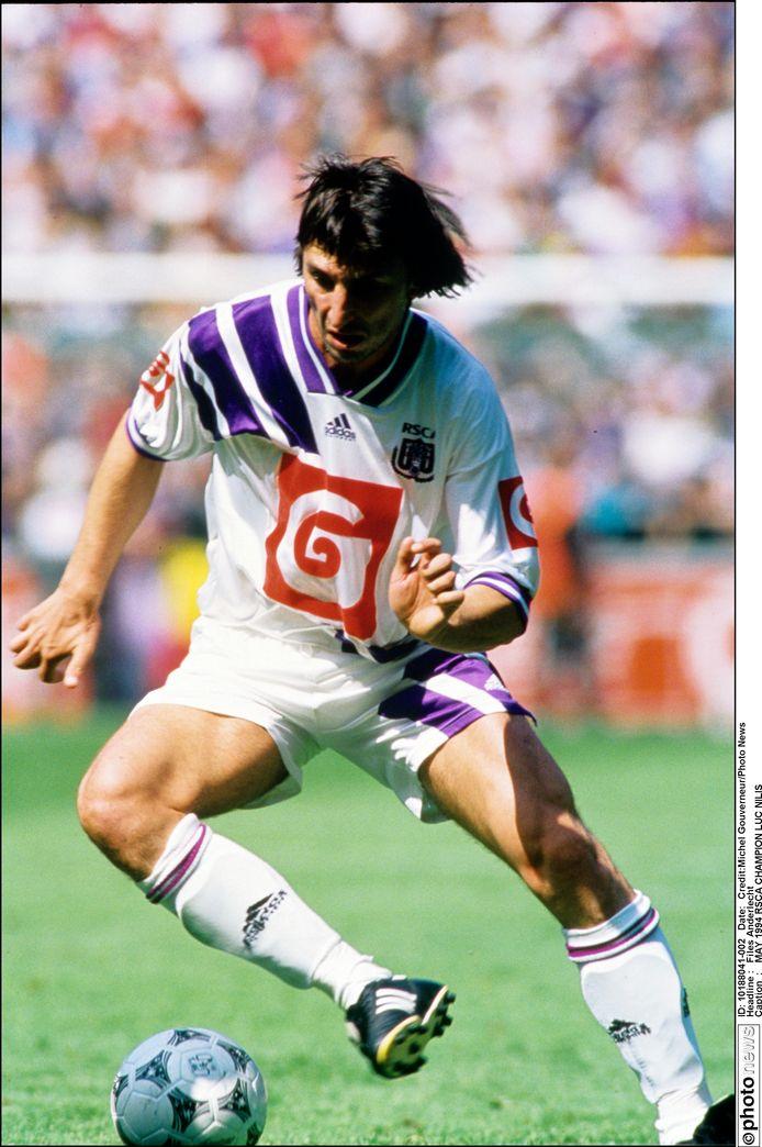 Luc Nilis in 1994.