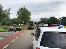 Motorrijdster gewond bij ongeval in Beuningen