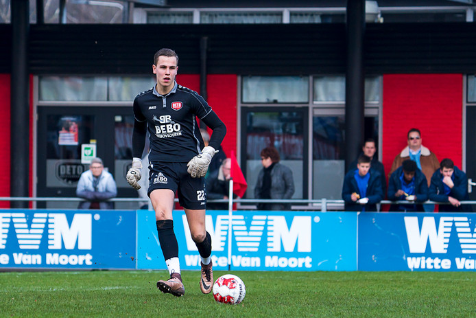 DETO-keeper Anthony van Zaltbommel.