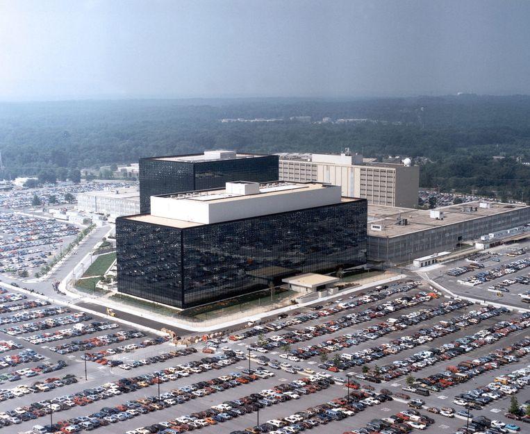 De NSA-hoofdkantoor in Fort Meade, Maryland. Beeld EPA
