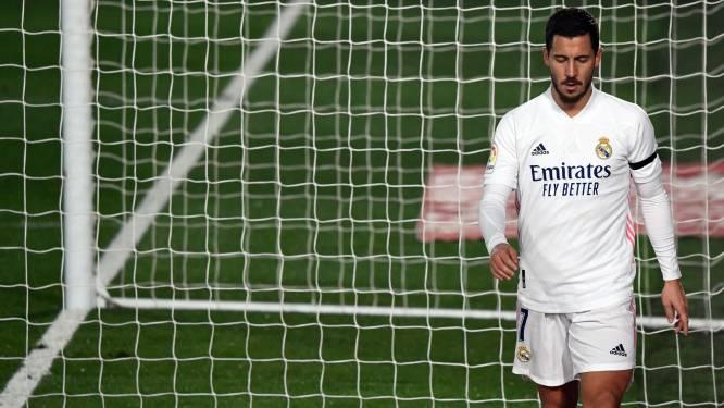"""Zidane over blessure Hazard: """"Hopelijk was het maar een tik"""""""