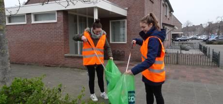 Met de app zwerfvuil opruimen in Schijndel