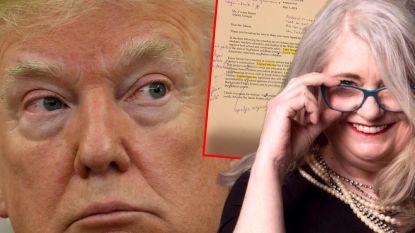 Gepensioneerde lerares krijgt brief van Trump. Ze stuurt verbeterde versie terug naar Witte Huis