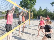 Nieuwe beachvolleybalvelden in Tholen