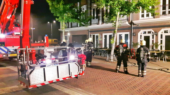 Brand bij Pincho's in Valkenswaard.
