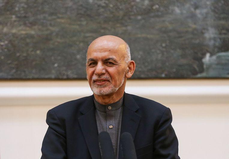 President Ashraf Ghani van Afghanistan.