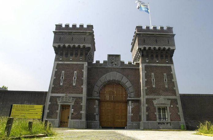 De poort van de gevangenis in Scheveningen.