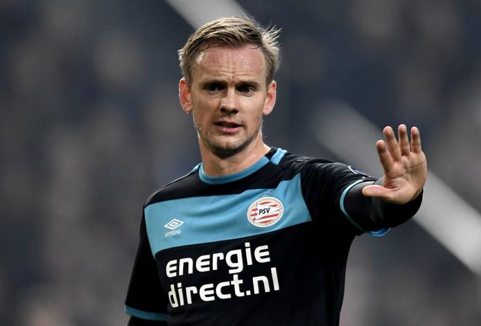 Siem de Jong in de topper tegen Ajax.