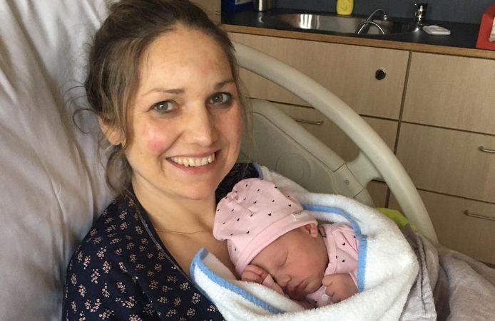 Moeder Jacinta met haar dochter Vienna