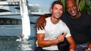 De peperdure vakantie van Ronaldo: gigantische jacht, enorme fooi, maar ook een gesprekje met hét basketicoon