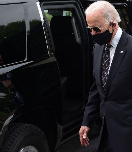 Biden: 'Trump is een idioot omdat hij geen mondkapje draagt'