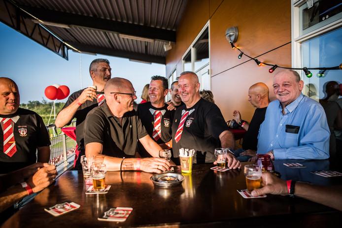 De 'Old meets new' party ter ere van honderd jaar Arnhemse boys.