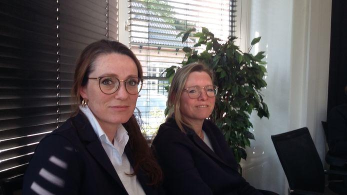 Kathelijne (l) en Dominique Hilckmann: 'We hebben altijd oprecht gehandeld'.