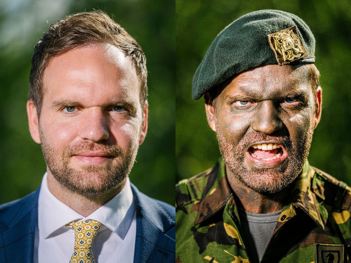 Derk Boswijk verenigt twee ogenschijnlijk totaal verschillende werelden.