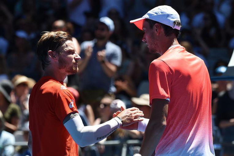 ... en op de US Open. Goffin won op Wimbledon, Medvedev deed dat in de Verenigde Staten.