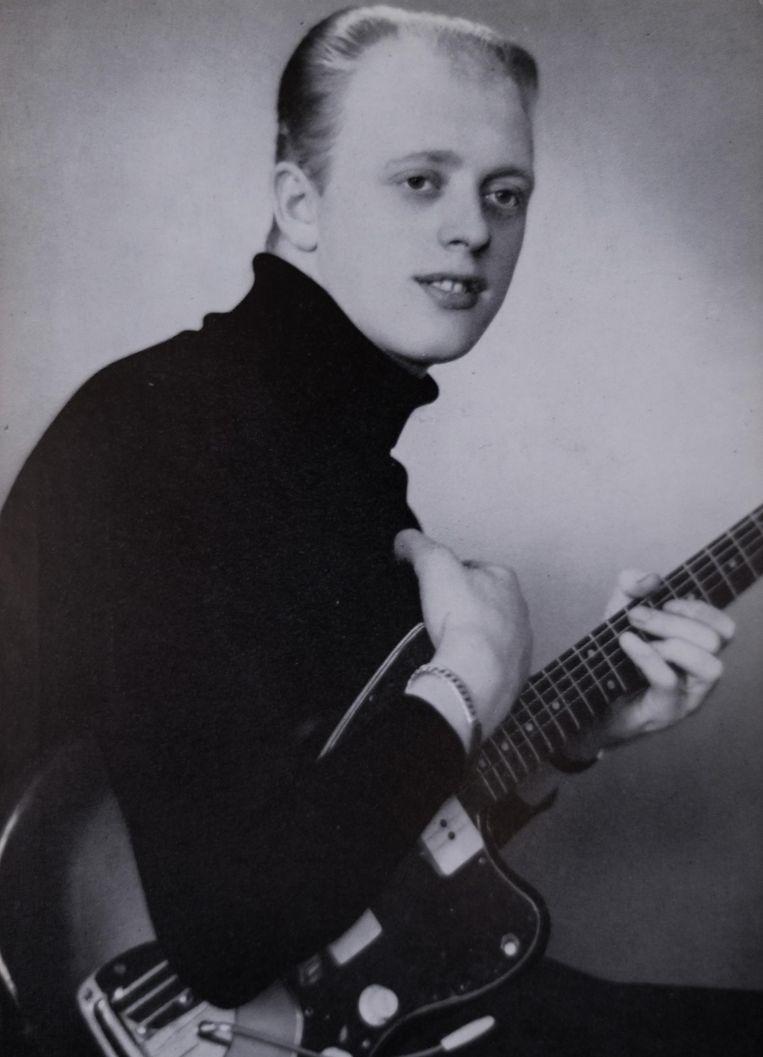 Eddy in zijn beginjaren als zanger.
