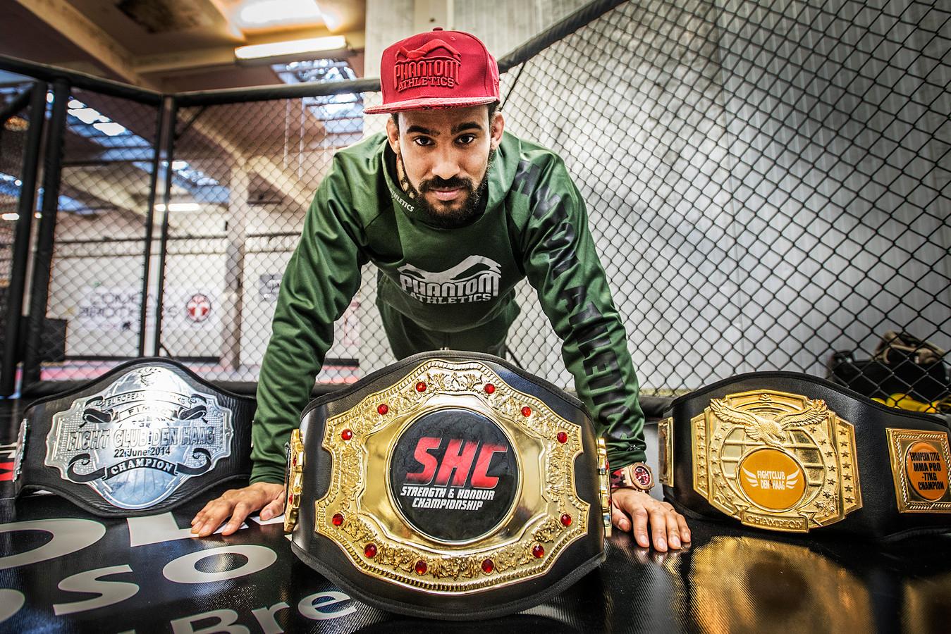 MMA-vechter Pieter Buist.