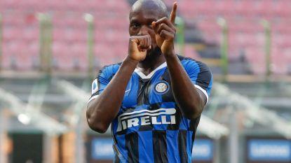 LIVE. Lukaku scoort en zit aan 20 goals in 30 duels in Serie A