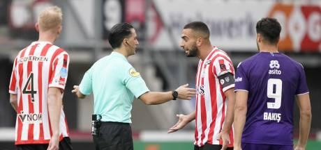 Auassar boos na rode kaart: 'Als ik had willen natrappen, had ik hem harder geraakt'