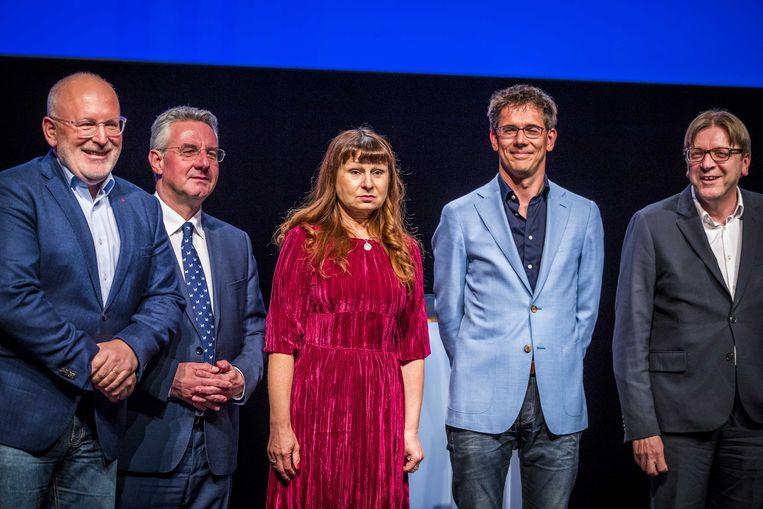 De kandidaat-voorzitters voor de Europese Commissie.
