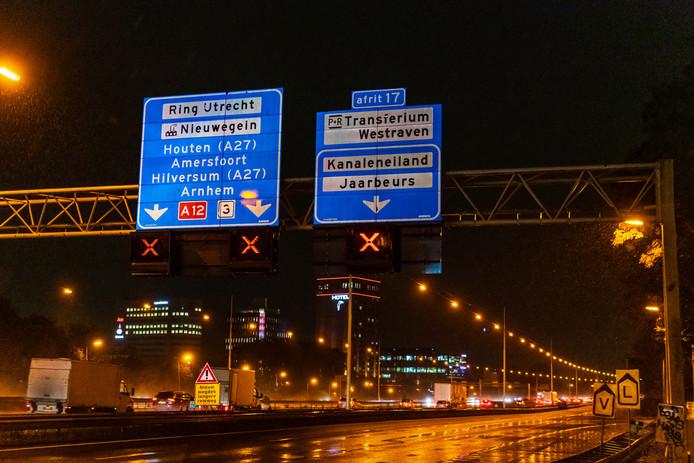 Galecopperbrug op de A12_ 6 weken afgesloten door werkzaamheden