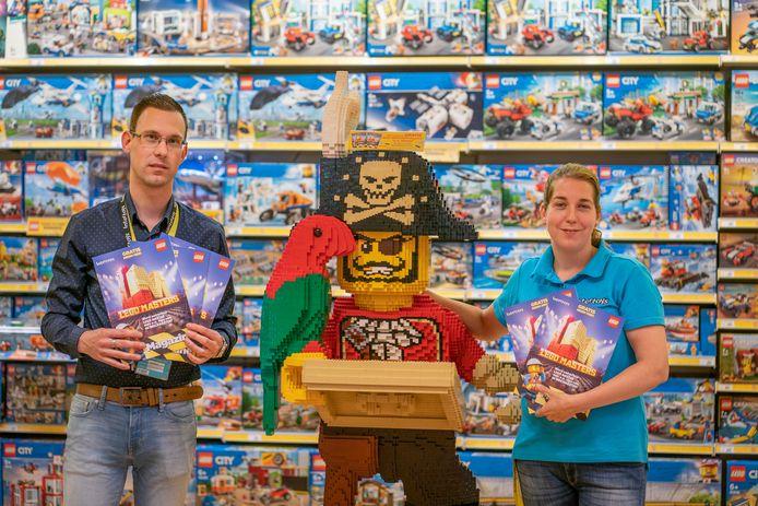 Maikel van Horik van Intertoys Heuvel galerij Eindhoven over de verkoop van Lego.