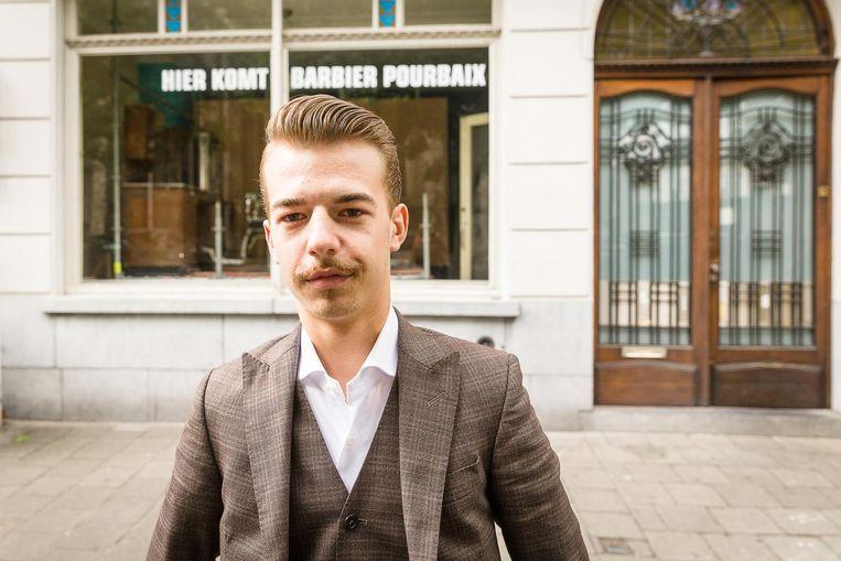 Igor Pourbaix is jong, maar ambitieus.