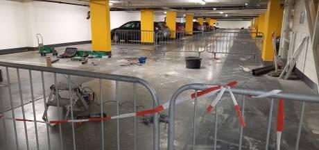 Parkeergarage Groesbeek deels dicht wegens werkzaamheden: verkeer heeft geen idee en rijdt zich klem