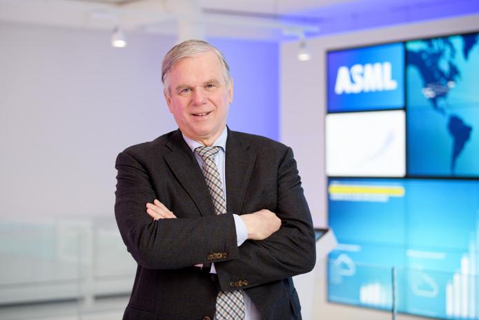 Martin van den Brink, technologisch topman ASML.