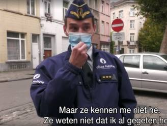 VRT-cameraploeg krijgt eieren naar zich gegooid tijdens interview met korpschef