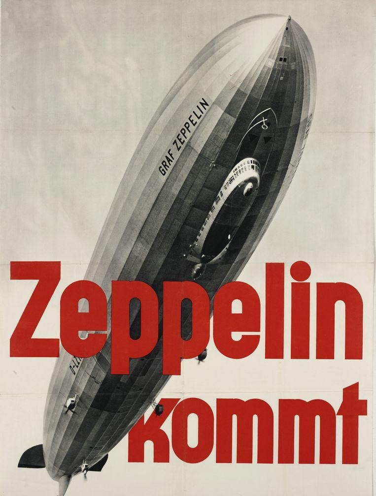 Poster uit 1933. Beeld Design Museum Den Bosch