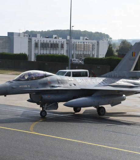 Les F-16 belges s'envolent de Florennes pour aller combattre l'État islamique