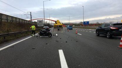 Ongeval met motorrijder zorgt voor lange file