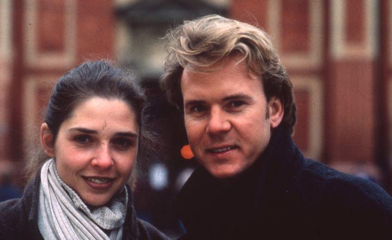 Francesca Vanthielen en Karl Symons ten tijde van hun relatie.