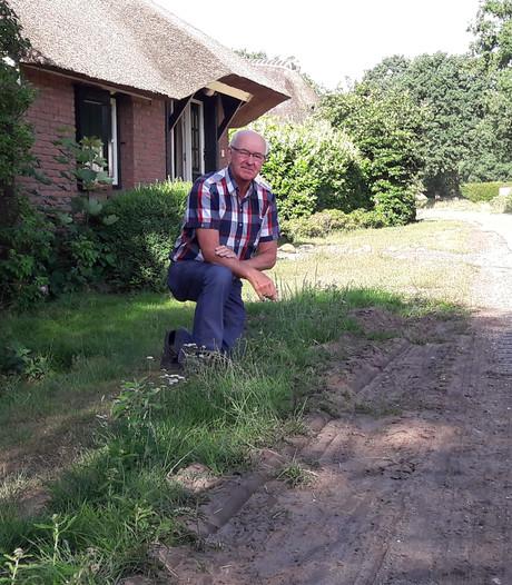 Holtenaar Herman van Boxtel is helemaal klaar met sluipverkeer