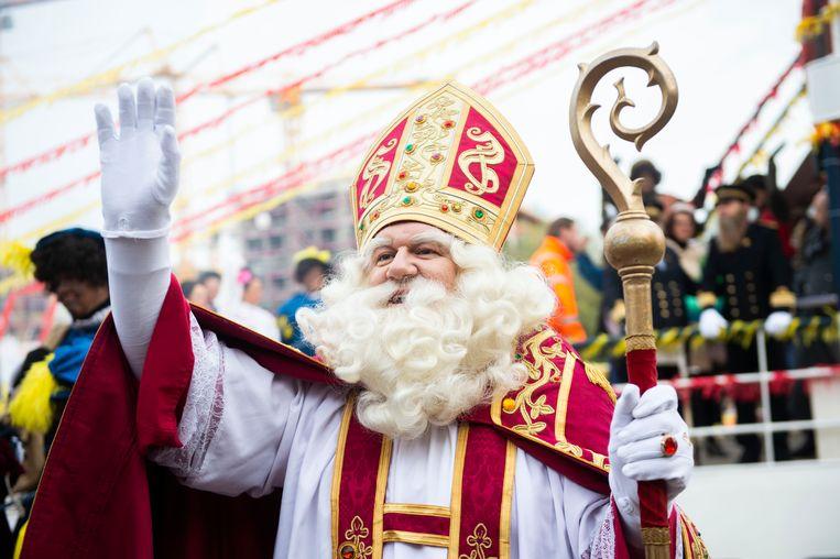 Sinterklaas Meert Aan In Antwerpen Er Zijn Dit Jaar Geen Stoute Kinderen De Morgen