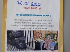 Oproep politie Tubbergen: zet geen kleding aan straat