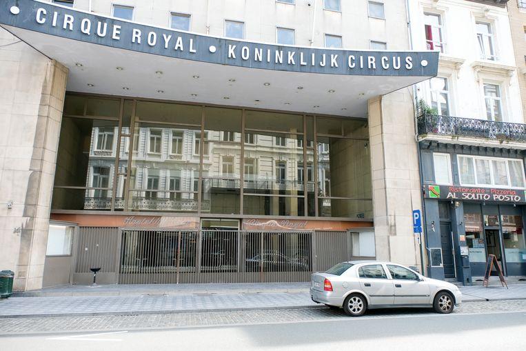 Het Koninklijk Circus, hier nog voor de renovatie.
