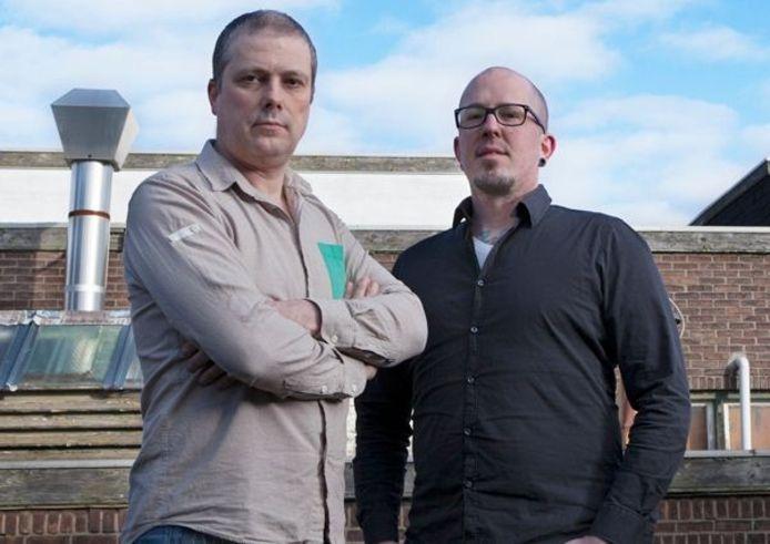 Erwin van Moll (l) en Jaap Hermans. Foto Vanmolleindhoven.nl