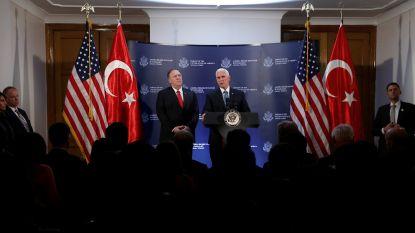 VS en Turkije sluiten deal over wapenstilstand in Syrië