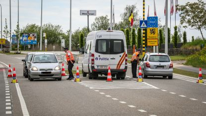 Grensovergangen met Nederland blijven tot nader order gesloten
