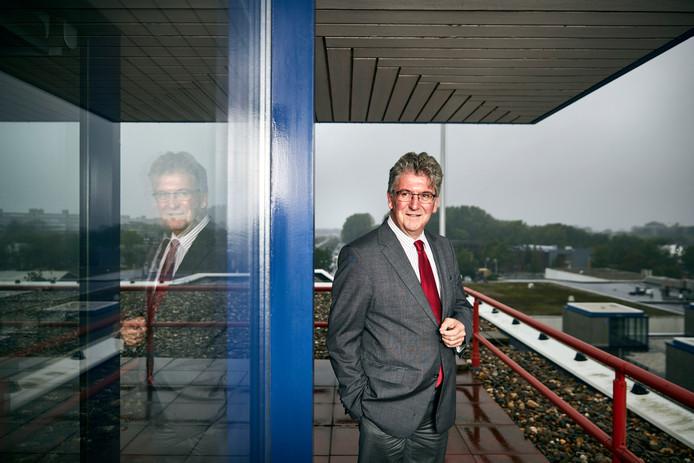 Burgemeester Edo de Haan van Maassluis.