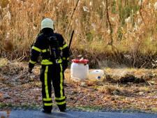 Vaten met drugsafval aangetroffen in Goirle