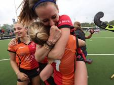 Hockeysters Oranje-Rood naar play-offs om landstitel